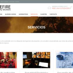 Red de incendio