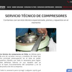 Servicio para compresores