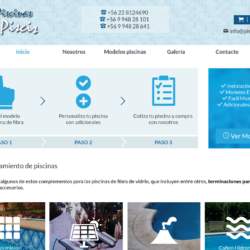 Fabricación de piscinas en la región Metropolitana