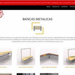 Venta de Bancas metalicas