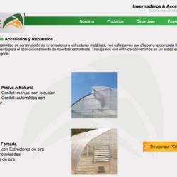 fabrica de invernaderos en chile