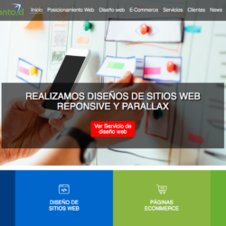Diseño de páginas web en santiago