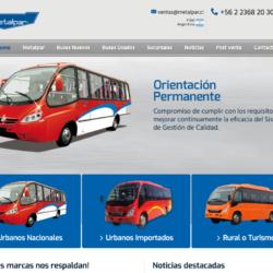 Venta de buses nuevos en la RM