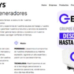 venta de Generador diesel en chile