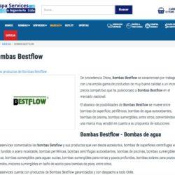 Servicio técnico bombas de agua en chile
