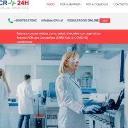 Examen PCR a domicilio en chile